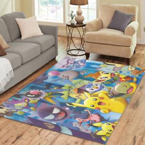 Pokemon Home Mat Custom Rugs Area Rug