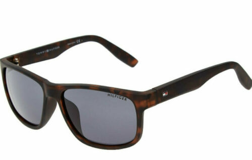 Tommy Hilfiger Mens Sunglasses Saint MP OM492 0020881909 Dark Brown Brand New