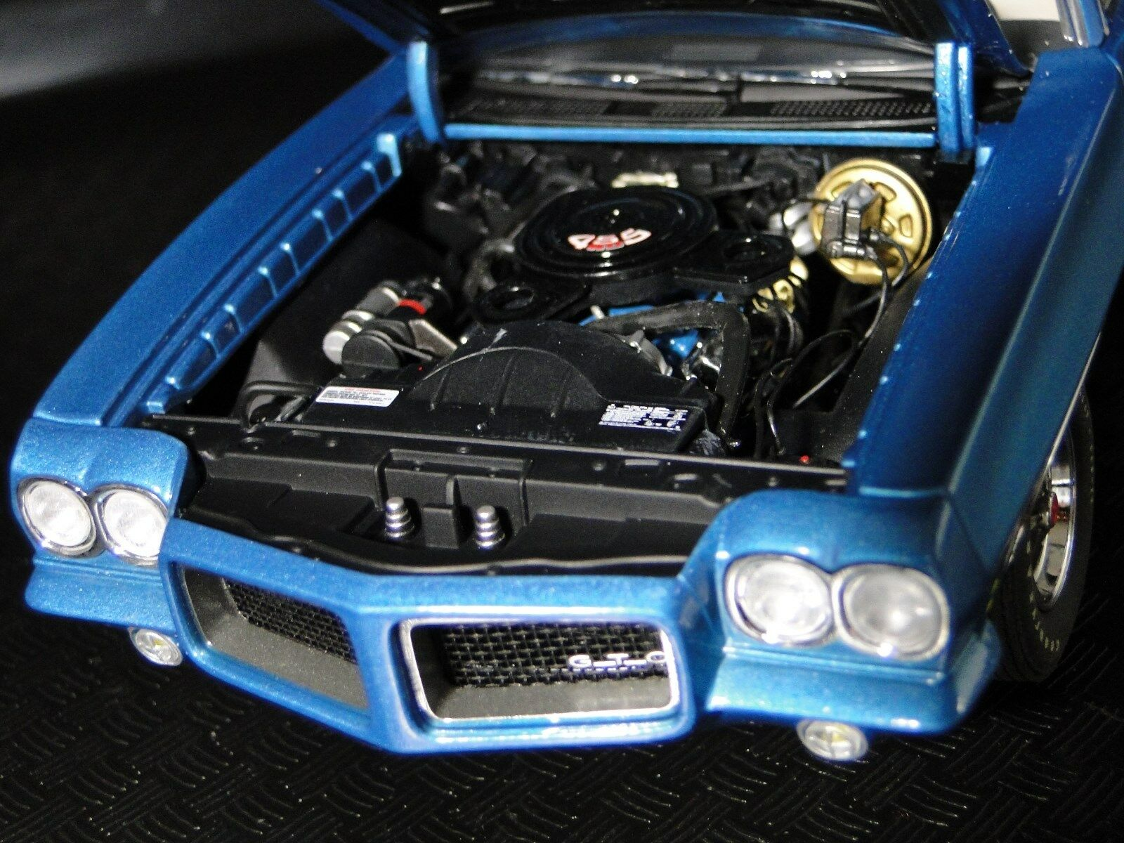 Pontiac Built GTO 1970s Hot Rod Sport Car Race 25 Vintage Classic 1 24 Model 18