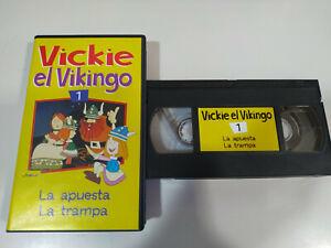 Vickie-el-Vikingo-Volumen-1-2-Episodios-VHS-Cinta-Tape-Espanol
