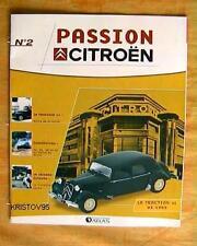 FASCICULE BOOKLET DE LA CITROEN TRACTION 11 1953 NEUF 2 SANS LA MINIATURE