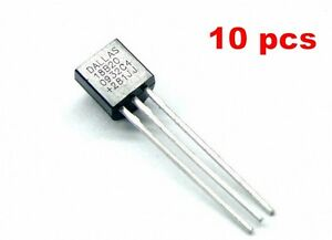 Image is loading 10pcs-DS18B20-1-Wire-Digital-Thermometer-Dallas b0b76e3495f38