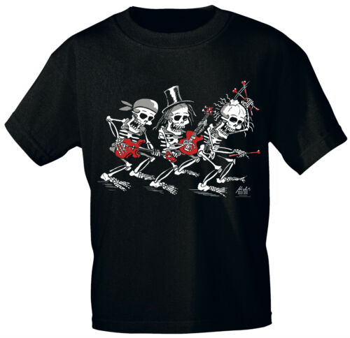 Designer Marques t-shirt s-xxl rock you © Music shirts Bones trio 10737