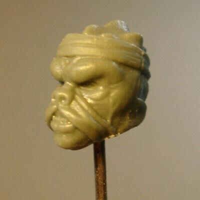 """MH329 Custom Cast Male head for use with 3.75/"""" GI Joe Star Wars Marvel figures"""