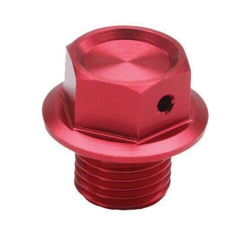 KX450F MAGNETIC DRAIN PLUG RED