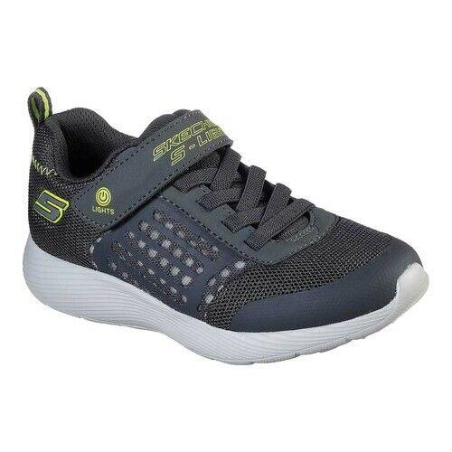 Details about Skechers Boys' S Lights Flex Glow Rondler Sneaker R4Koc