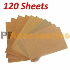 120 Sheets Wet Dry Assorted Grits Sandpaper Sanding Paper 9 X 11 Inch Wood Pain