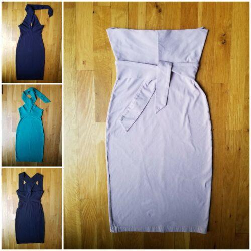 American apparel multi way bodycon dress lot 4 xs