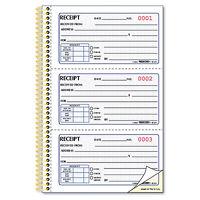 Rediform Money Receipt Book 2 3/4 X 5 Two-part Carbonless 225 Sets/book 8l829 on sale
