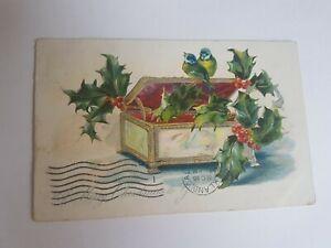 Greeting-Postcard-Vintage-Treasure-Chest