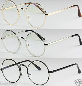 NEW Fashion UniSex Square Framed Clear Lens Vintage Retro Geek Nerd Glasses