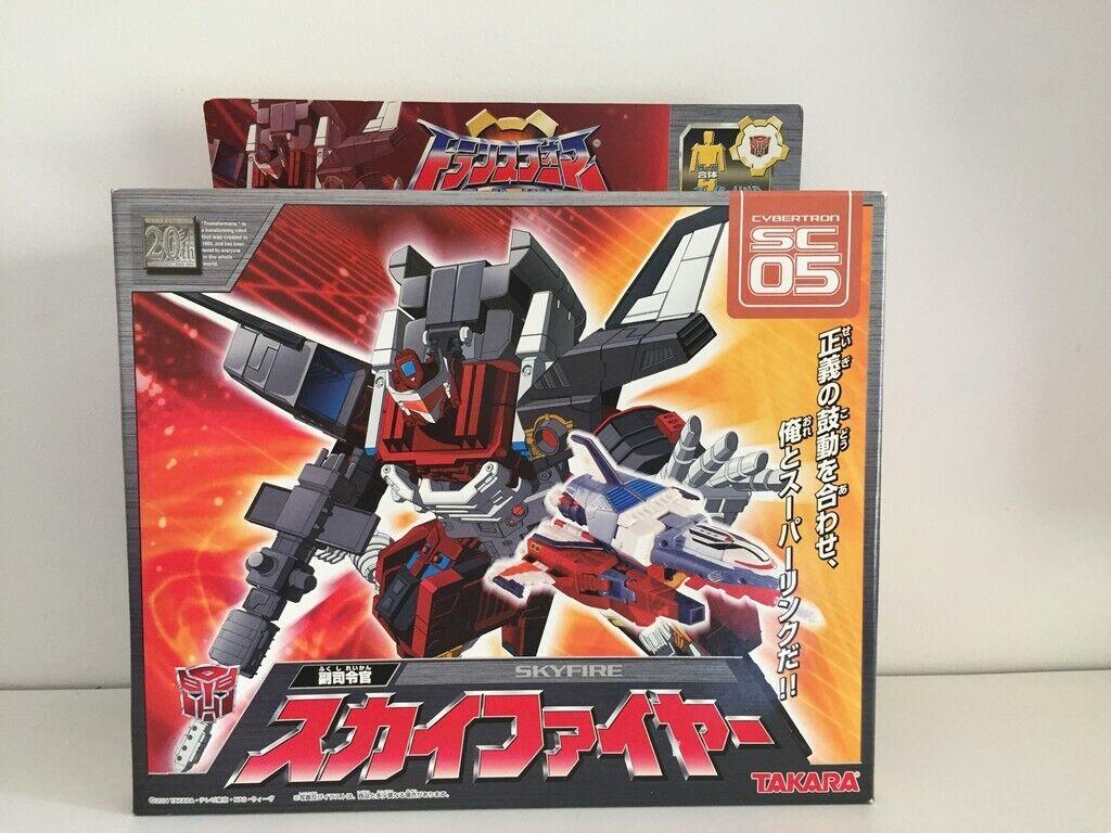 Takara Transformers Super Link SC-05 Skyfire
