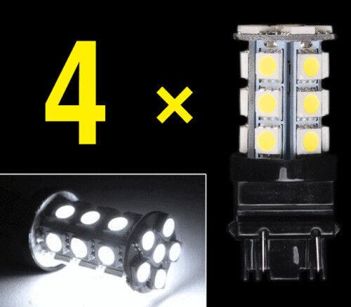 White 3157 24-SMD LED Light Bulbs Daytime Running Backup Reverse 3757 3457