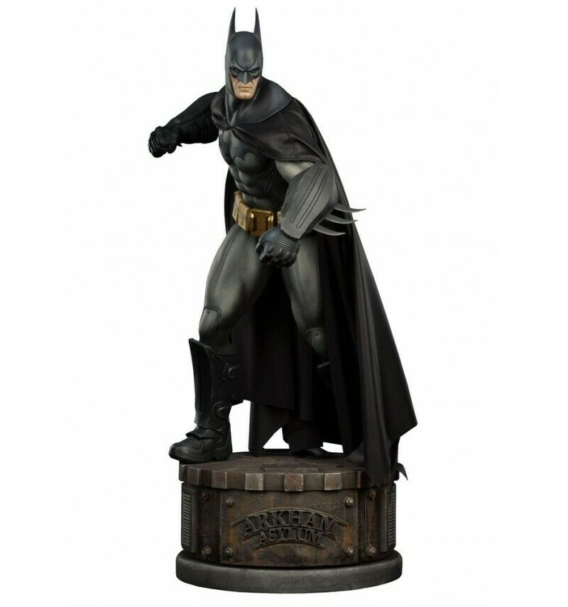 Sideshow Batman Arkham Asylum Estatua Estatua Estatua Batman cf4964