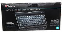 Verbatim Ultra Slim Wireless Bluetooth Keyboard 97753 For Ipad, Iphone, Android
