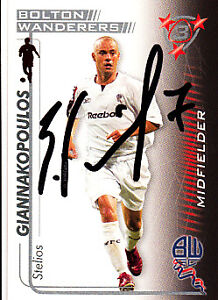 Bolton-Wanderers-F-C-Giannakopoulos-Hand-05-06-Premiership-Shoot-Out-Signed-Card
