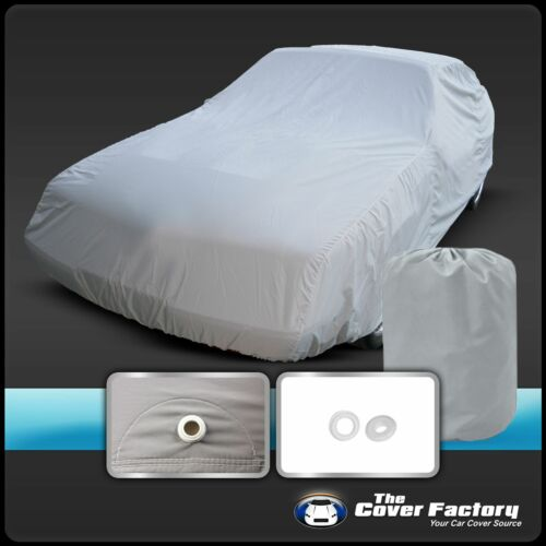 4 Layer Car Cover Breathable Waterproof Layers Outdoor Indoor Soft Lining Foa
