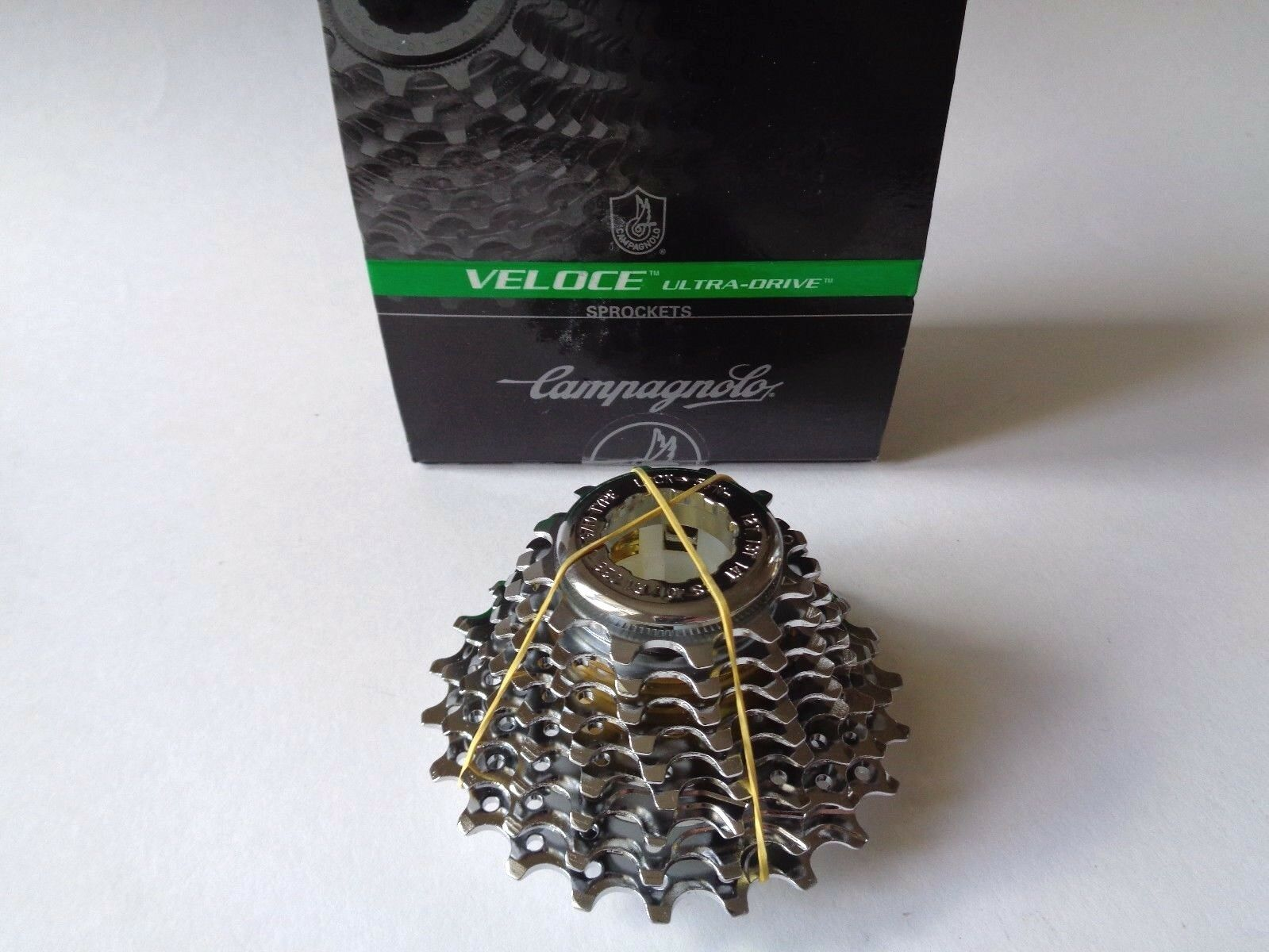 NOS Campagnolo Veloce 9 speed Ultra-Drive System 12-23T cassette