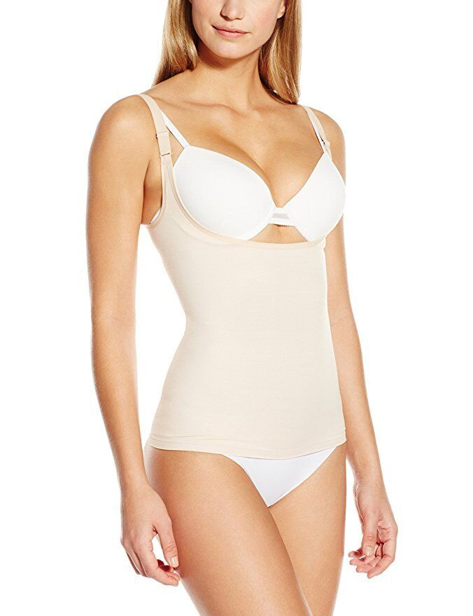 BNWT Womens Sz 12 Target Gok Spots Print Silky Shapewear Suspender Skirt RRP $50