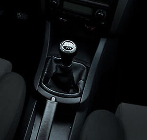 Genuine-Leather-Gear-Shift-Boot-Gaiter-Cover-Sleeve-fit-Seat-Ibiza-3-2002-2008