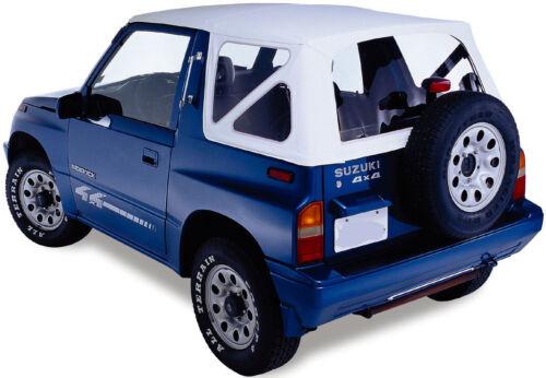 Ersatzverdeck weiss Suzuki Vitara Softtop Verdeck Top Cabrioverdeck 88-04