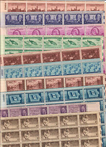 US $30.00 FACE MINT / NH POSTAGE LOT OF TWENTY (20) 3¢ SHEETS of 50 STAMPS EACH!