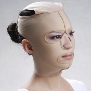 Gesicht-Wange-Behandlung-Maske-Falten-schlaffe-Hals-Kinn-Instant-Facelift-Tight