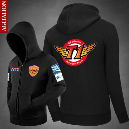 hoodie Sweatshirt jacket Men/'s//Boy/'s thick coat League of Legends LOL SKT T1