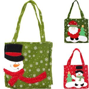 Nuovo-Santa-Claus-Gift-Bags-Sacchetti-di-caramelle-di-buon-Natale-Candy-Bag