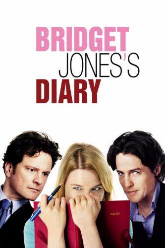 "/""Bridget Jones Diary/""..Renee Zellweger .Classic Movie Poster A1A2A3A4Sizes"