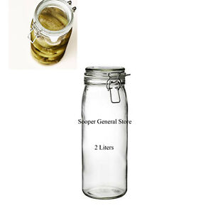 Ikea Glass Mason Jar Clip Top Coperchio Impermeabile All Aria Grande