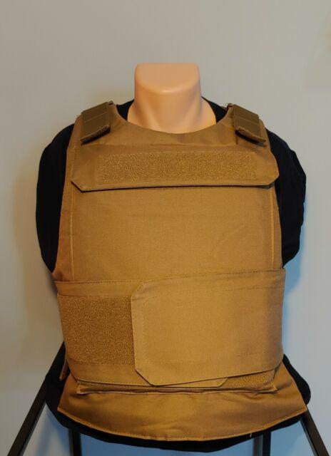 3xl / 4xl Level IIIA PE bullet proof vest IN STOCK ships fast big man body armor