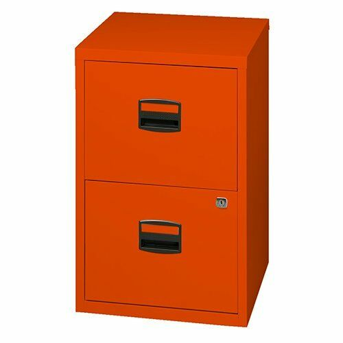 Bisley 2 Draw Metal Filing Cabinet /& Anti Tilt Mechanism Colour Choice