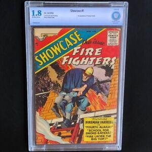 Showcase-1-1956-CBCS-1-8-1st-Fireman-Farrell-Fire-Fighters-DC-Comics