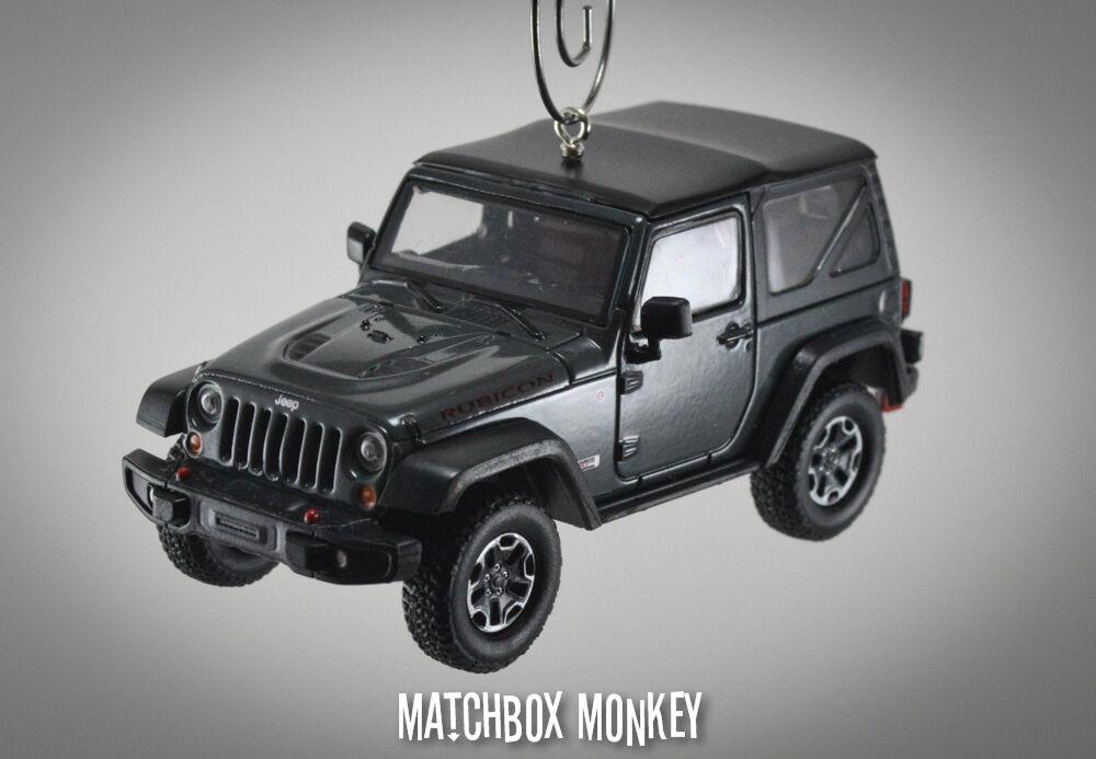 2013 Decimo Aniversario Jeep Wrangler Rubicon X Unlimited ornamento de Navidad 1 43