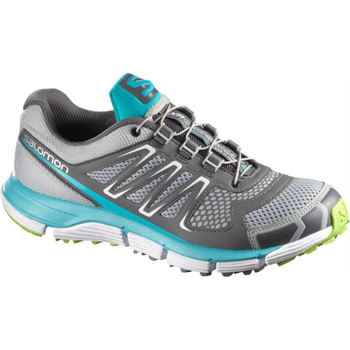 Zapatos promocionales para hombres y mujeres Salomon XR Crossmax  2 Schuhe Laufschuhe Jogging Trail Turnschuhe  Grau NEU