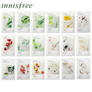 10pcs-innisfree-My-Real-Squeeze-Mask-20ml