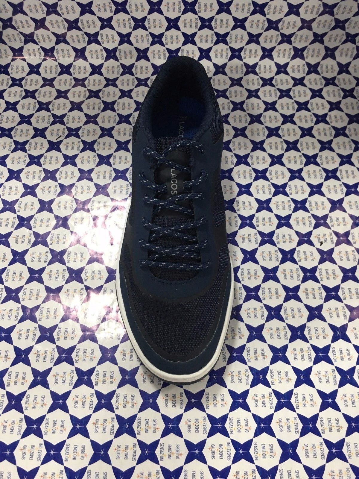 Sneakers Uomo Lacoste Explorateur Sport Navy Blu 117 TCOZ7qxg