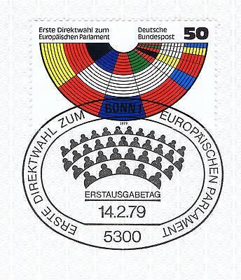 Brd 1979: Europaparlamenswahlen Nr. 1002 Mit Dem Bonner Sonderstempel! 1a! 153 SorgfäLtige FäRbeprozesse