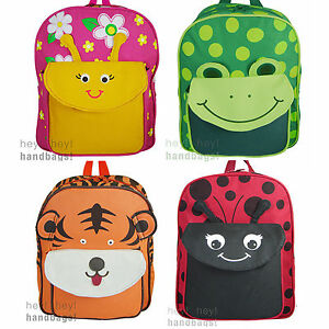 023a6f128ba5 Kids Backpack Preschool School Bag Rucksack Girl Boy Small Children ...