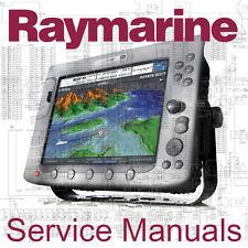 Raymarine Raytheon Autohelm Service Manual - E120 E80 C80 C120 ST40 ST60 ST80