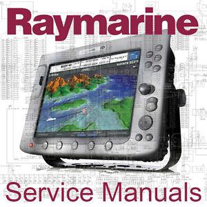 raymarine raytheon autohelm service manual e120 e80 c80 c120 st40 rh ebay com Raymarine C120 Radar Raymarine ES Series