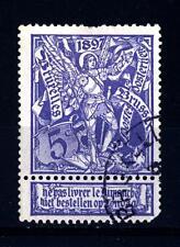 BELGIUM - BELGIO - 1896 - Esposizione di Bruxelles. San michele ed il drago