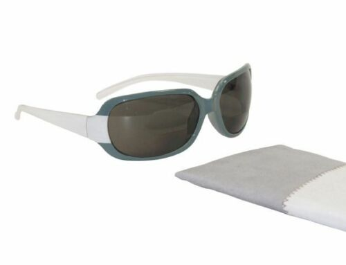 NEW BIFOCAL SUNGLASSES SUNREADERS GREY & WHITE UV400 PROTECTION +1.5 & +2.0 DUNE