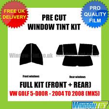 VW GOLF 5-DOOR 2004-2008 (MK5) FULL PRE CUT WINDOW TINT KIT