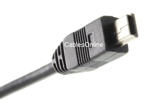 USB2-B501P 1.5ft USB-2.0 B-Female Panel Mount to Mini 5-Pin Male Cable