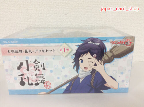 26932 Cardfight!! Vanguard Touken Ranbu Hanamaru Deck Set Vol.1