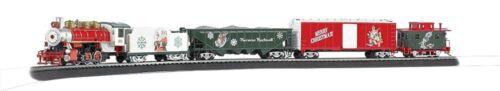 Bachmann  HO A Norman Rockwell Christmas Train Set  BAC741