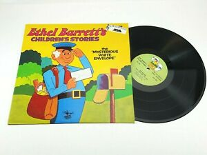 Ethel-Barrett-039-s-Children-039-s-Stories-MYSTERIOUS-WHITE-ENVELOPE-LP-1974-ZLP-930
