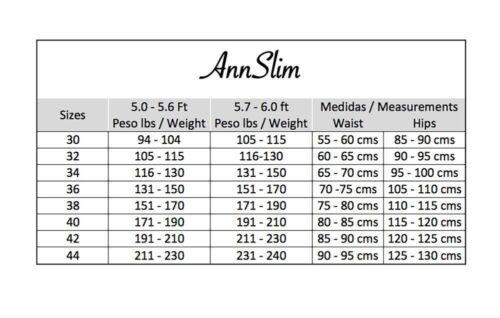 REDUCTORA PARA HOMBRE AS 1035 UNDER T-SHIRT ABDOMINAL CONTROL W//ZIPPER F//GYM DR